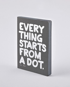 Notizbuch Graphic L Everything Dot