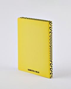 Notizbuch Graphic L Happy by Sagmeister
