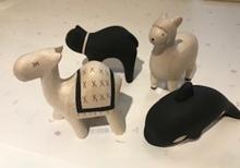 Holz Tiere Figuren