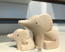 Holz Tiere Paare Figuren