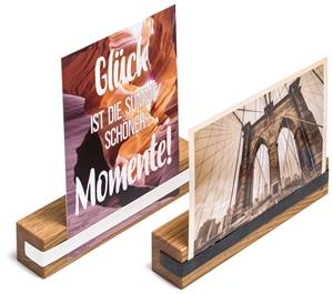 Fotohalter Fix Holz Eiche